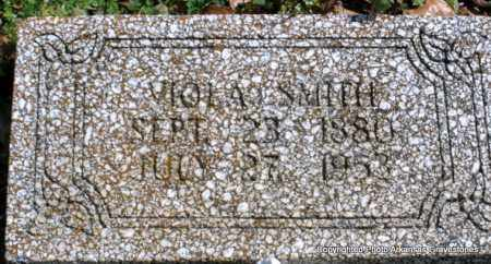 SMITH, VIOLA - Polk County, Arkansas   VIOLA SMITH - Arkansas Gravestone Photos