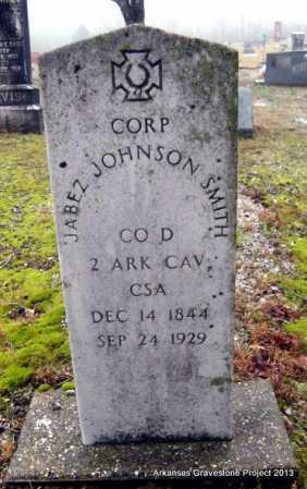 SMITH (VETERAN CSA), JABEZ JOHNSON - Polk County, Arkansas | JABEZ JOHNSON SMITH (VETERAN CSA) - Arkansas Gravestone Photos