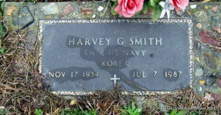 SMITH (VETERAN KOR), HARVEY G - Polk County, Arkansas | HARVEY G SMITH (VETERAN KOR) - Arkansas Gravestone Photos