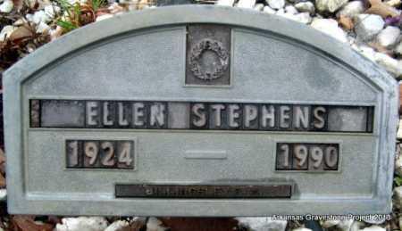 STEPHENS, ELLEN - Polk County, Arkansas | ELLEN STEPHENS - Arkansas Gravestone Photos