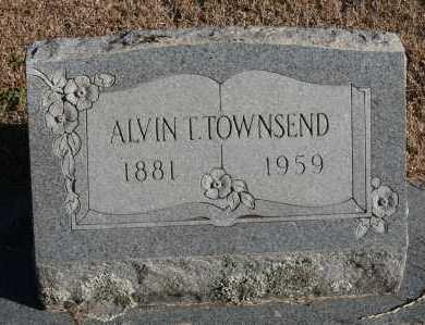 TOWNSEND, ALVIN T. - Polk County, Arkansas | ALVIN T. TOWNSEND - Arkansas Gravestone Photos