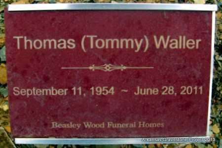 "WALLER (VETERAN), THOMAS ""TOMMY"" MONROE - Polk County, Arkansas | THOMAS ""TOMMY"" MONROE WALLER (VETERAN) - Arkansas Gravestone Photos"