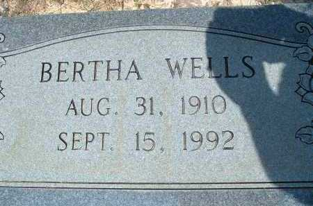 JOHNSTON WELLS, BERTHA - Polk County, Arkansas | BERTHA JOHNSTON WELLS - Arkansas Gravestone Photos