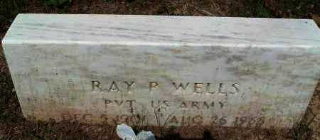 WELLS  (VETERAN), RAY - Polk County, Arkansas | RAY WELLS  (VETERAN) - Arkansas Gravestone Photos