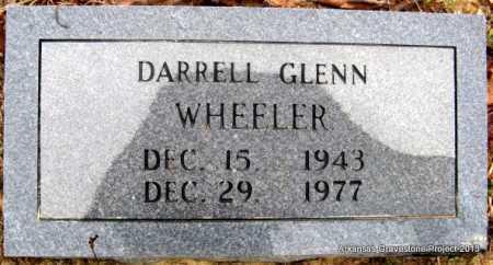 WHEELER, DARRELL GLENN - Polk County, Arkansas | DARRELL GLENN WHEELER - Arkansas Gravestone Photos