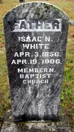 WHITE, ISAAC N - Polk County, Arkansas | ISAAC N WHITE - Arkansas Gravestone Photos