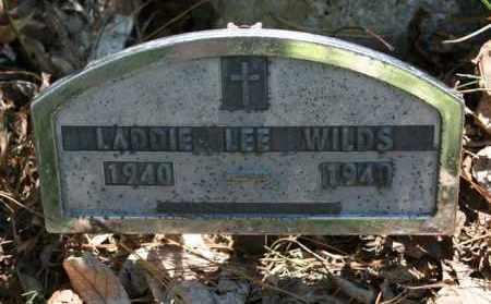 WILDS, LADDIE LEE - Polk County, Arkansas   LADDIE LEE WILDS - Arkansas Gravestone Photos
