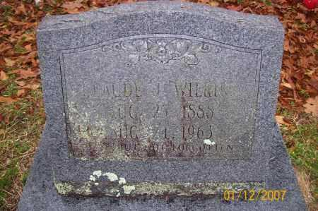 WILKINS, CLAUDE - Polk County, Arkansas   CLAUDE WILKINS - Arkansas Gravestone Photos