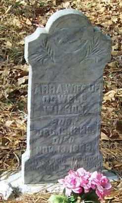 WILSON, ARRA - Polk County, Arkansas   ARRA WILSON - Arkansas Gravestone Photos