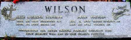 WILSON, ELIZA CAROLINE - Polk County, Arkansas | ELIZA CAROLINE WILSON - Arkansas Gravestone Photos