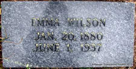 WILSON, EMMA - Polk County, Arkansas   EMMA WILSON - Arkansas Gravestone Photos