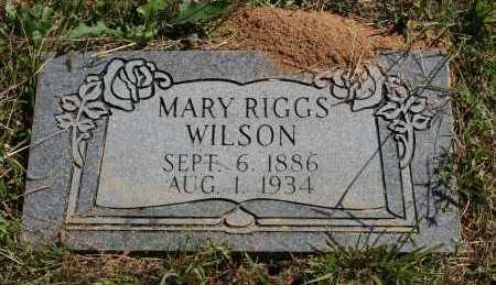 WILSON, MARY - Polk County, Arkansas | MARY WILSON - Arkansas Gravestone Photos
