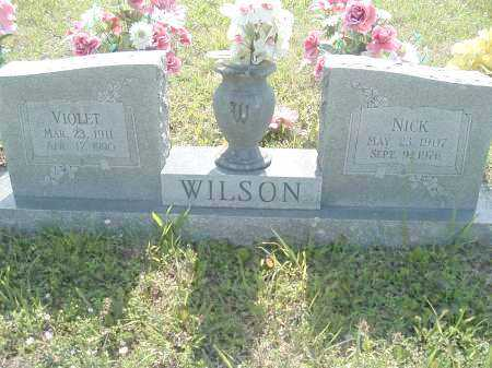 WILSON, VIOLET VALENTINE - Polk County, Arkansas | VIOLET VALENTINE WILSON - Arkansas Gravestone Photos