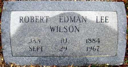 WILSON, ROBERT EDMAN LEE - Polk County, Arkansas   ROBERT EDMAN LEE WILSON - Arkansas Gravestone Photos