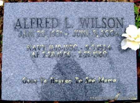 WILSON, ALFRED LOYAL - Polk County, Arkansas | ALFRED LOYAL WILSON - Arkansas Gravestone Photos