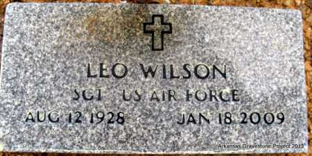 WILSON (VETERAN), LEO - Polk County, Arkansas | LEO WILSON (VETERAN) - Arkansas Gravestone Photos