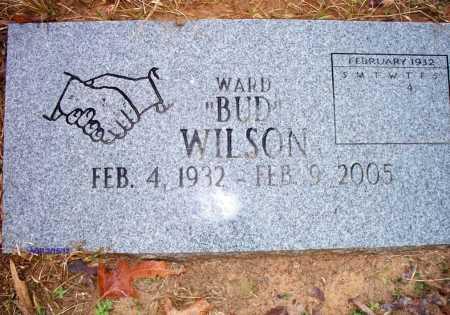 "WILSON, WARD ""BUD"" - Polk County, Arkansas   WARD ""BUD"" WILSON - Arkansas Gravestone Photos"