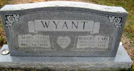WYANT, ROBERT EARL - Polk County, Arkansas | ROBERT EARL WYANT - Arkansas Gravestone Photos