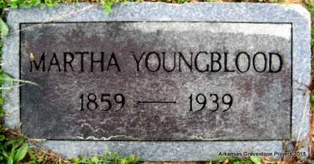 YOUNGBLOOD, MARTHA A - Polk County, Arkansas | MARTHA A YOUNGBLOOD - Arkansas Gravestone Photos