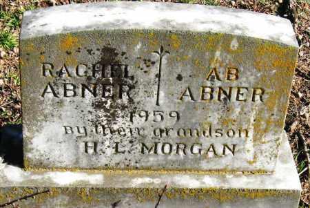ABNER, A  B - Pope County, Arkansas | A  B ABNER - Arkansas Gravestone Photos