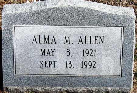 ALLEN, ALMA M - Pope County, Arkansas | ALMA M ALLEN - Arkansas Gravestone Photos