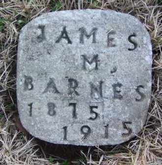 BARNES, JAMES M - Pope County, Arkansas   JAMES M BARNES - Arkansas Gravestone Photos