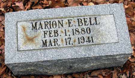BELL, MARION E - Pope County, Arkansas | MARION E BELL - Arkansas Gravestone Photos