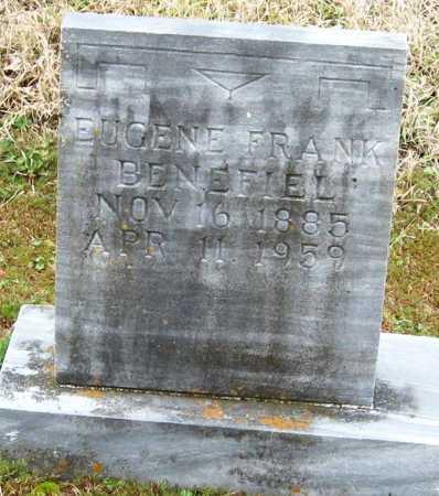BENEFIEL, EUGENE FRANK - Pope County, Arkansas | EUGENE FRANK BENEFIEL - Arkansas Gravestone Photos