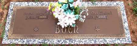 BOEN, ANNA MAE - Pope County, Arkansas   ANNA MAE BOEN - Arkansas Gravestone Photos