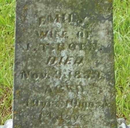 BOEN, EMILY (CLOSE UP) - Pope County, Arkansas | EMILY (CLOSE UP) BOEN - Arkansas Gravestone Photos