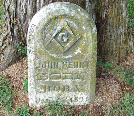 BOEN, JOHN HENRY - Pope County, Arkansas | JOHN HENRY BOEN - Arkansas Gravestone Photos