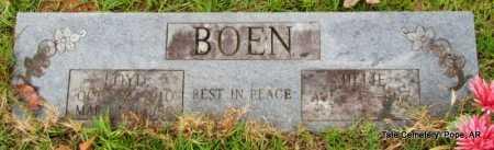 BOEN, LOYD - Pope County, Arkansas | LOYD BOEN - Arkansas Gravestone Photos