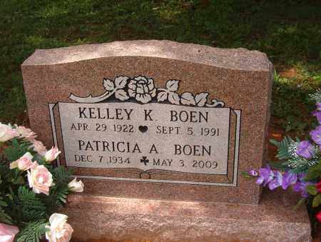 BOEN, KELLEY KENNETH - Pope County, Arkansas | KELLEY KENNETH BOEN - Arkansas Gravestone Photos