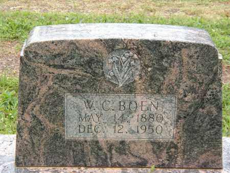 BOEN, WILLIAM CHARLES - Pope County, Arkansas | WILLIAM CHARLES BOEN - Arkansas Gravestone Photos