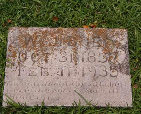 BOEN, W J - Pope County, Arkansas | W J BOEN - Arkansas Gravestone Photos