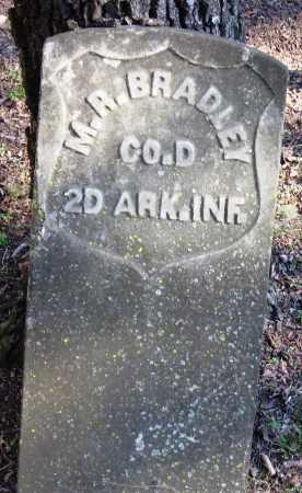 BRADLEY  (VETERAN UNION), M  R - Pope County, Arkansas | M  R BRADLEY  (VETERAN UNION) - Arkansas Gravestone Photos