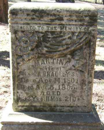 BRADLEY, MARTINA - Pope County, Arkansas | MARTINA BRADLEY - Arkansas Gravestone Photos