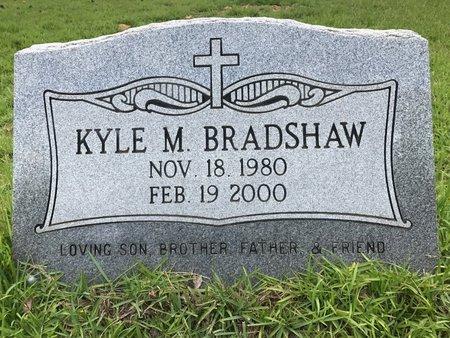 BRADSHAW, KYLE M - Pope County, Arkansas | KYLE M BRADSHAW - Arkansas Gravestone Photos