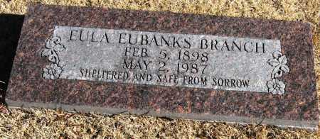 BRANCH, EULA - Pope County, Arkansas   EULA BRANCH - Arkansas Gravestone Photos