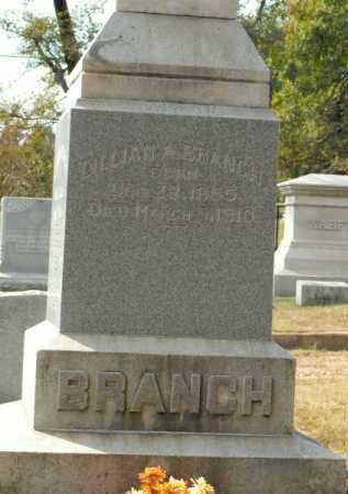 BRANCH, LILLIAN A - Pope County, Arkansas   LILLIAN A BRANCH - Arkansas Gravestone Photos