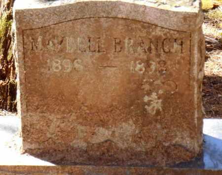 BRANCH, MAYBELL - Pope County, Arkansas | MAYBELL BRANCH - Arkansas Gravestone Photos