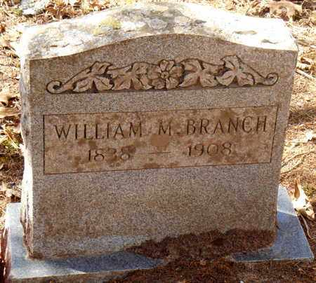 BRANCH, WILLIAM M - Pope County, Arkansas | WILLIAM M BRANCH - Arkansas Gravestone Photos