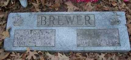 BREWER, LEVI M - Pope County, Arkansas | LEVI M BREWER - Arkansas Gravestone Photos