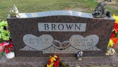 BROWN, DANNY N - Pope County, Arkansas   DANNY N BROWN - Arkansas Gravestone Photos
