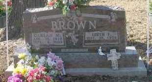 BROWN, EDITH - Pope County, Arkansas | EDITH BROWN - Arkansas Gravestone Photos