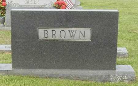 BROWN, (FAMILY MARKER) - Pope County, Arkansas   (FAMILY MARKER) BROWN - Arkansas Gravestone Photos