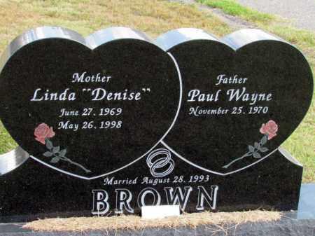 "BROWN, LINDA ""DENISE"" - Pope County, Arkansas | LINDA ""DENISE"" BROWN - Arkansas Gravestone Photos"