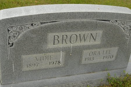 BROWN, ORA LEE - Pope County, Arkansas | ORA LEE BROWN - Arkansas Gravestone Photos