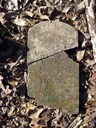 BROWN, WILLIAM E - Pope County, Arkansas | WILLIAM E BROWN - Arkansas Gravestone Photos