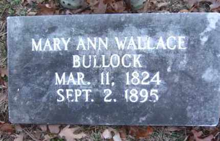 BULLOCK, MARY ANN - Pope County, Arkansas | MARY ANN BULLOCK - Arkansas Gravestone Photos